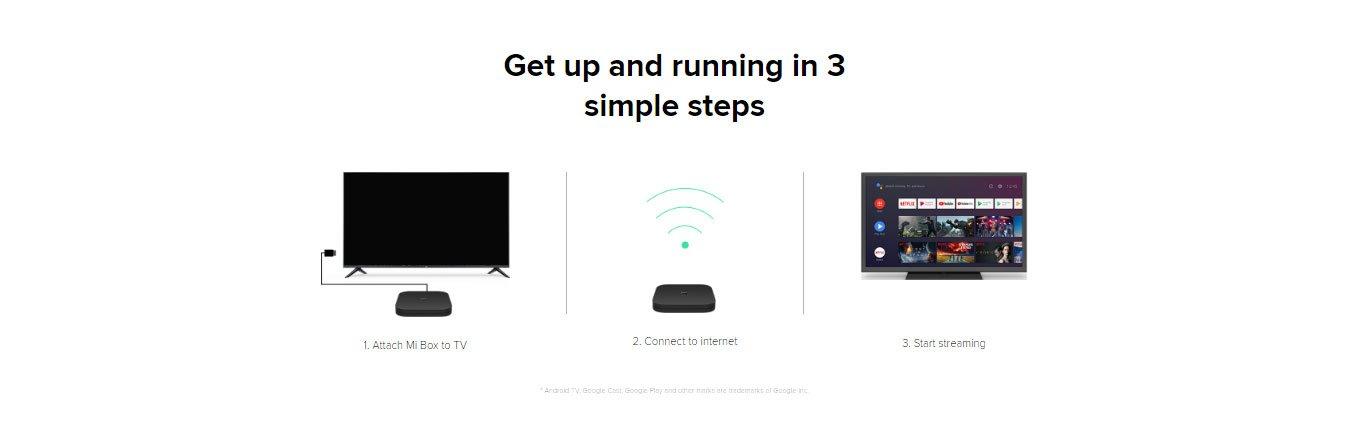 Xiaomi Mi TV Box S 4K Ultra HD Streaming Media Player