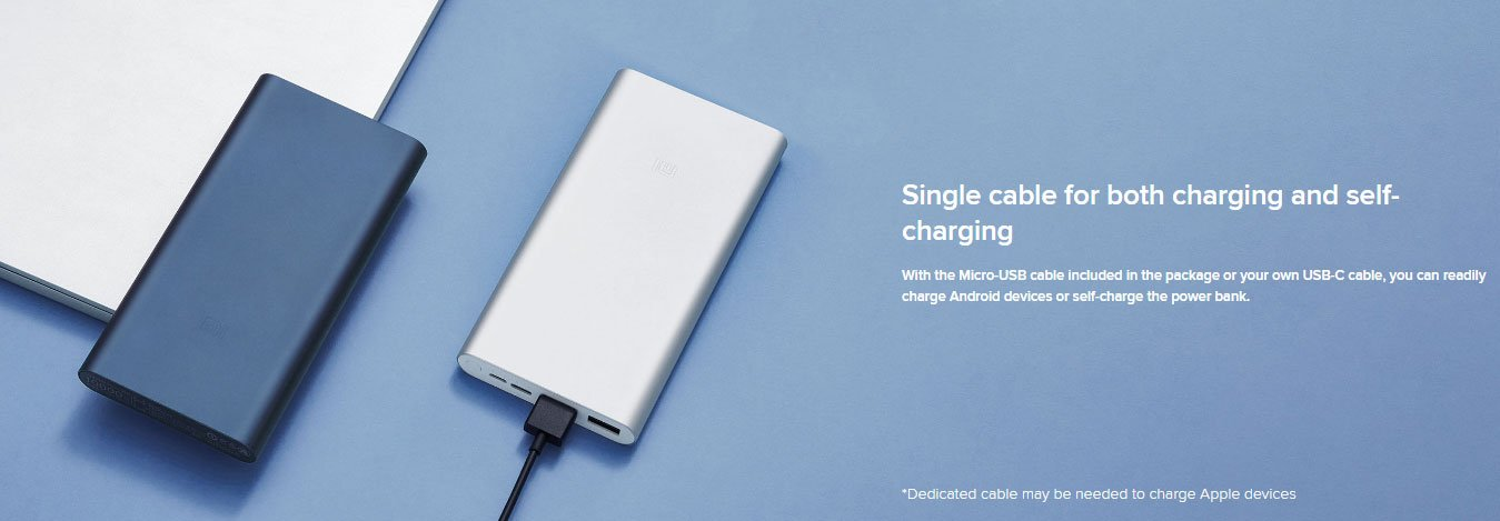 Mi 10000mAh 18W Fast Charge Power Bank 3