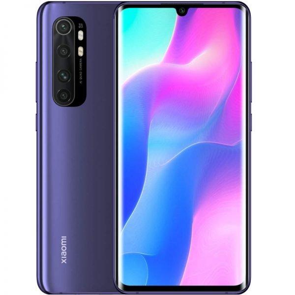 Mi Note 10 Lite nebula purple