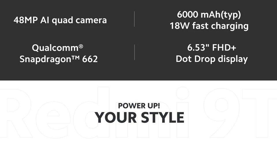 Redmi 9T (6GB + 128GB)