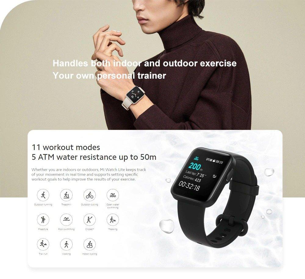 Xiaomi Mi Smart Watch Lite