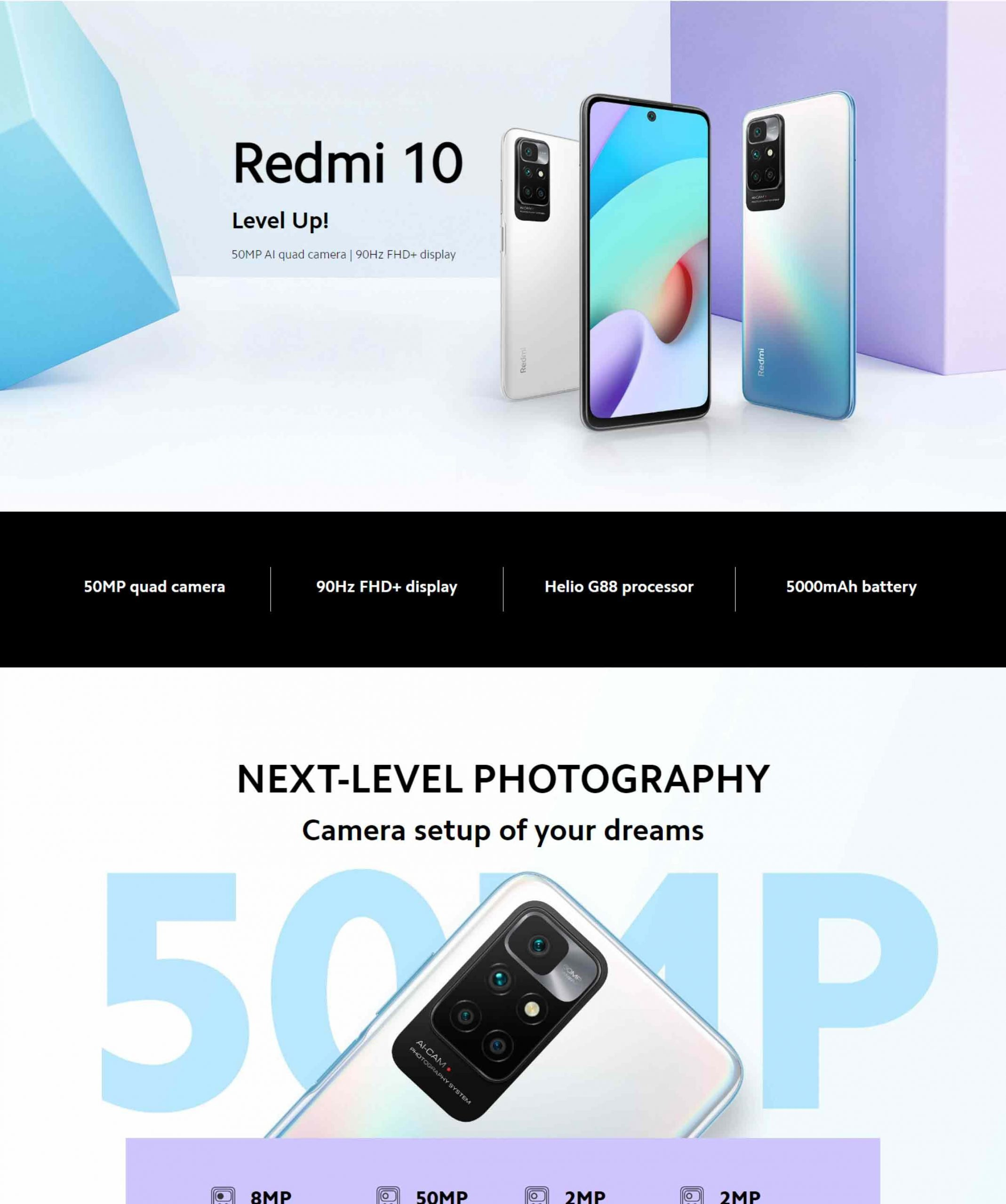 Redmi 10 (4GB - 128GB)